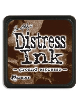 Tim Holtz Distress Mini Ink Pad GROUND ESPRESSO Ranger TDP47353 Preview Image