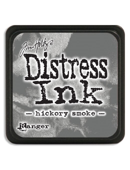 Tim Holtz Distress Mini Ink Pad HICKORY SMOKE Ranger TDP47339