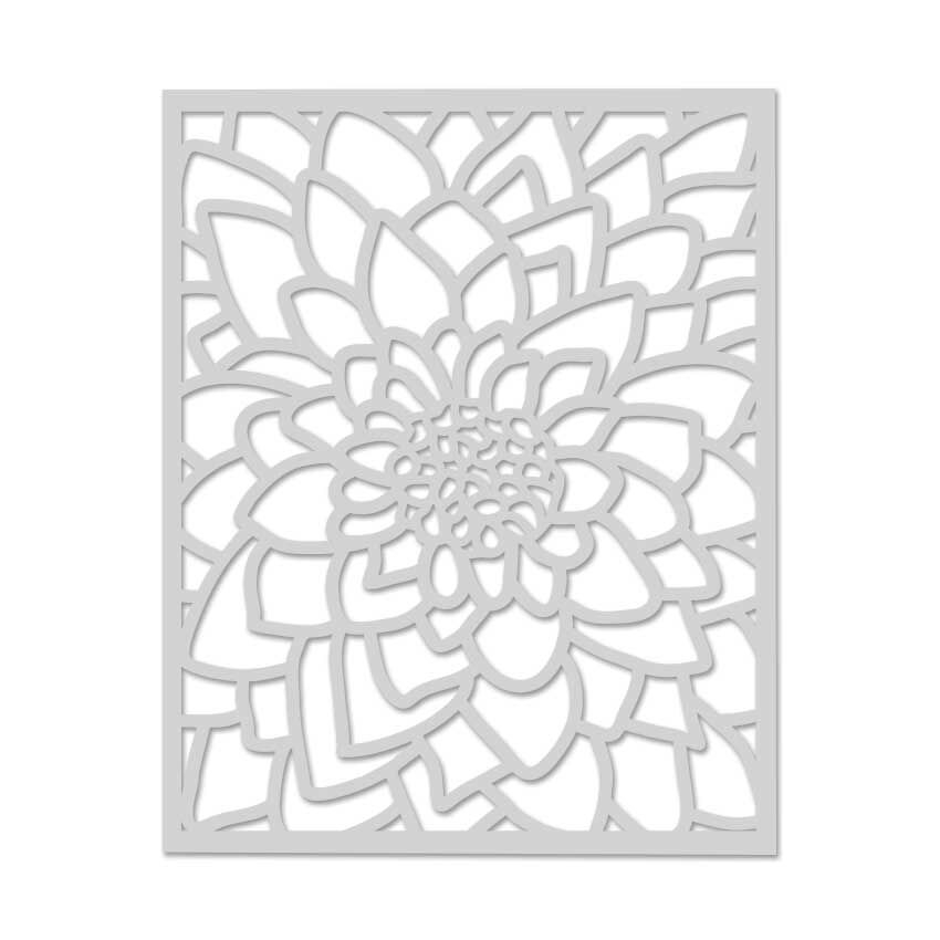Hero Arts Stencil LARGE FLOWER SA069 zoom image