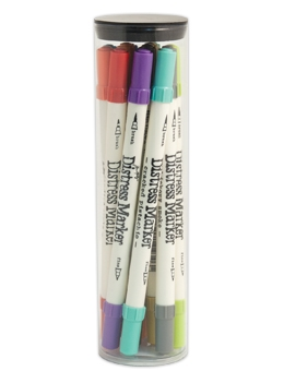 Tim Holtz Distress Markers SET OF 12 Ranger TDMK49166