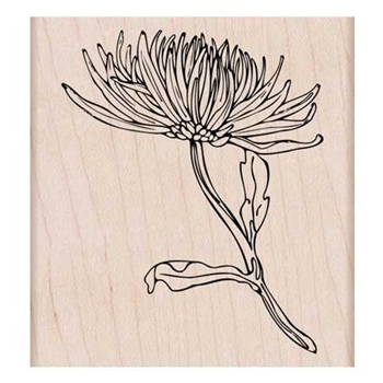 Hero Arts Rubber Stamp MUM STEM K6134