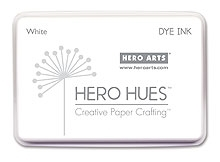Hero Arts DYE Ink Pad WHITE AF136 Preview Image