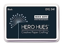 Hero Arts DYE Ink Pad BLACK AF101 Preview Image