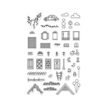 Hero Arts Clear Stamps HOME SWEET HOME CL955