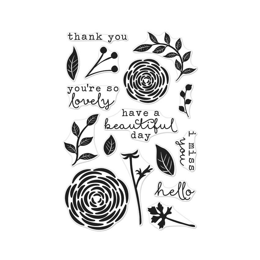 Hero Arts Clear Stamps YOU'RE SO LOVELY CL949 zoom image
