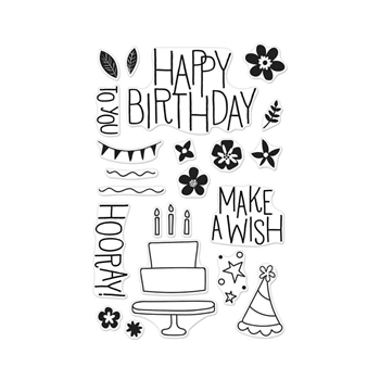 Hero Arts Clear Stamps MAKE A WISH BIRTHDAY CL941