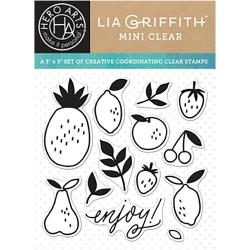 Hero Arts Clear Stamps ENJOY FRUIT By Lia CL930