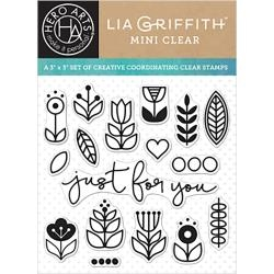 Hero Arts Clear Stamps JUST FOR YOU By Lia CL929