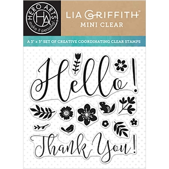 Hero Arts Clear Stamps SPRING HELLO By Lia CL926