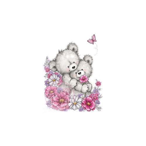 Wild Rose Studio BEAR HUGS Clear Stamp Set CL485 Preview Image