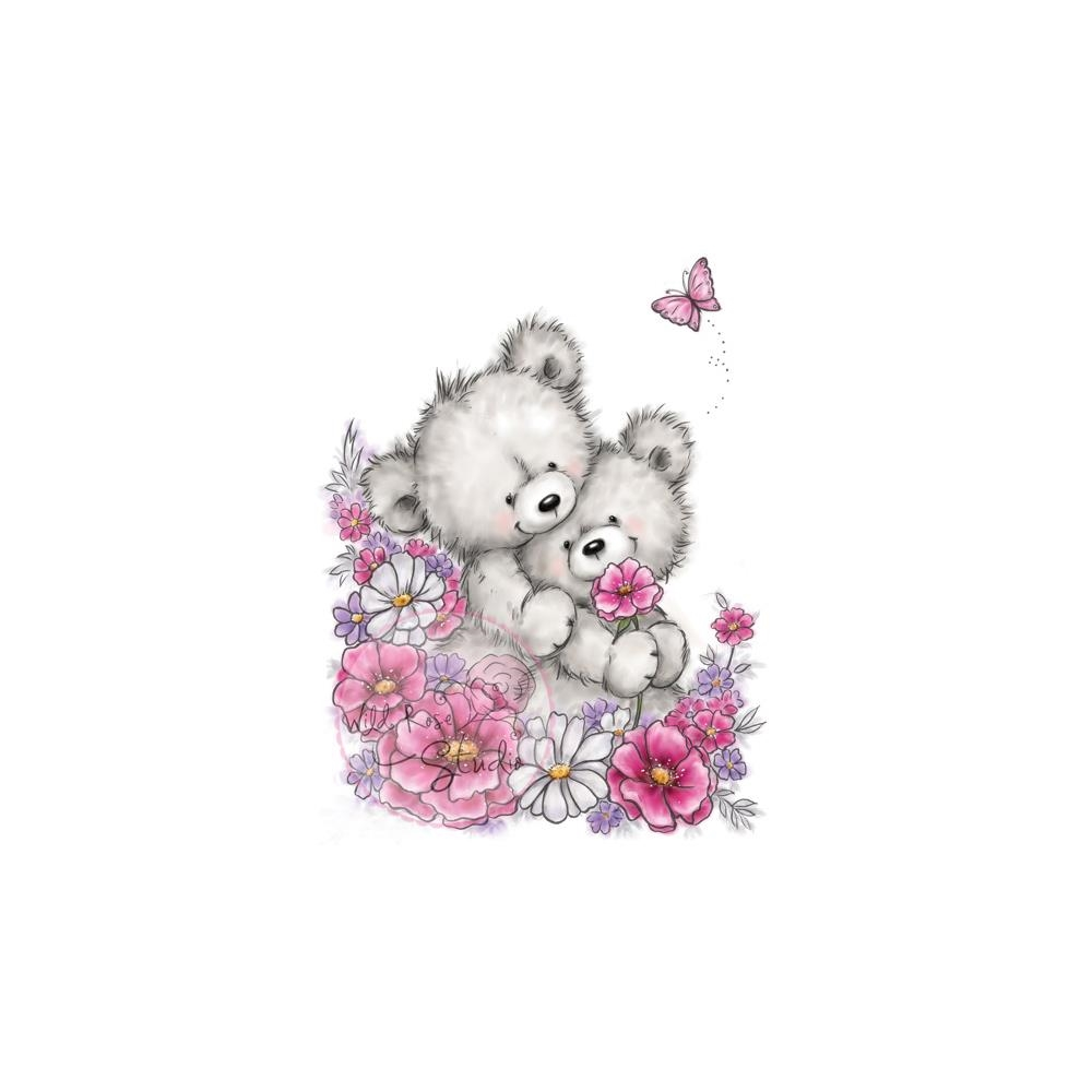 Wild Rose Studio BEAR HUGS Clear Stamp Set CL485 zoom image