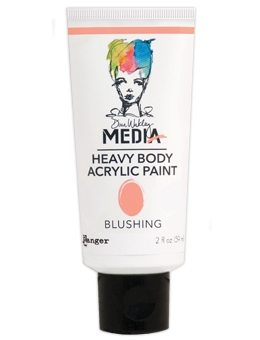 Dina Wakley Ranger BLUSHING Media Heavy Body Acrylic Paints MDP48794 zoom image