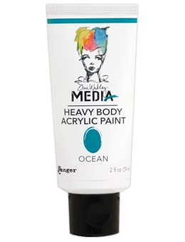 Dina Wakley Ranger OCEAN Media Heavy Body Acrylic Paints MDP48848