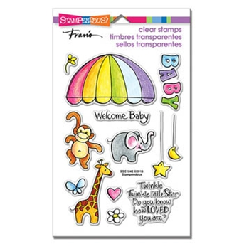 Stampendous Clear Stamps ANIMAL MOBILE SSC1242