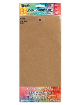 Ranger Dylusions KRAFT #12 Journaling Tags DYA47810