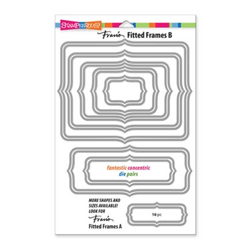Stampendous FITTED FRAMES B DIE SET DCP1006