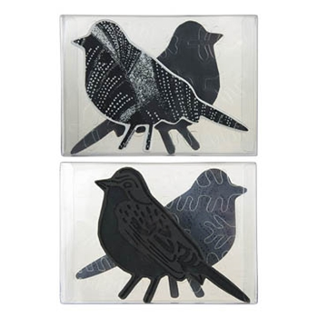 Stampendous BIRD FOAM STAMP, CLING STAMP AND STENCIL SET NKCFS02