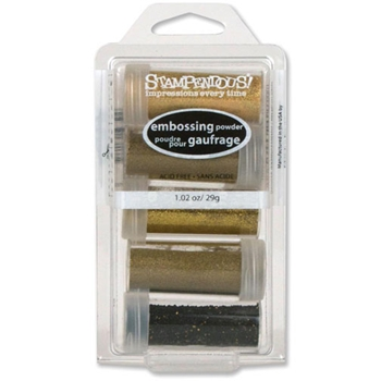 Stampendous GLAMOUR Embossing Powder Kit EK18