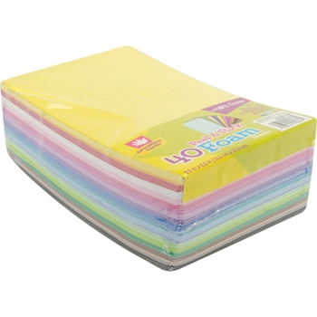 Creative Hands MULTICOLOR Peel And Stick Foam Sheets 2090259E