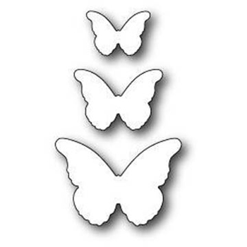Memory Box CASCADIA BUTTERFLY TRIO Craft Die 99095