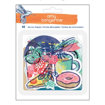 American Crafts Amy Tangerine ACETATE AND CARDSTOCK EPHEMERA Better Together 373993