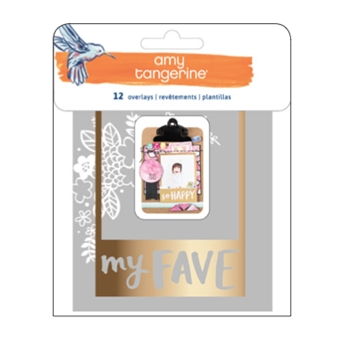 American Crafts Amy Tangerine PHOTO OVERLAYS Better Together 373997