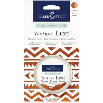 Faber-Castell COPPER TEXTURE LUXE Metallic Paste 770321