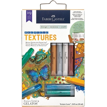Faber-Castell METALLIC TEXTURES Mix and Match Kit 770801T