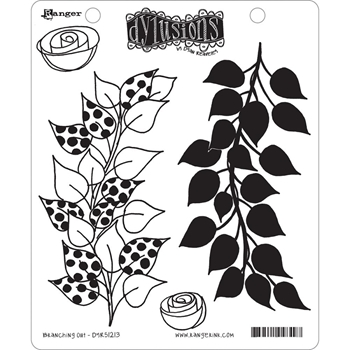 Dyan Reaveley BRANCHING OUT Dylusions Cling Stamp Set DYR51213