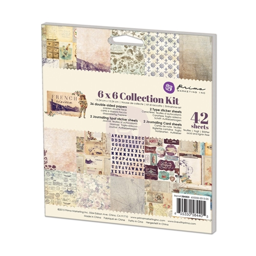 Prima Marketing FRENCH RIVIERA 6 x 6 Collection Kit 584405 Preview Image