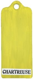 Paper Artsy Fresco Finish CHARTREUSE Chalk Acrylic Paint 1.69oz FF81