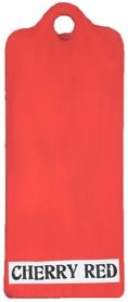 Paper Artsy Fresco Finish CHERRY RED Chalk Acrylic Paint 1.69oz FF86 zoom image