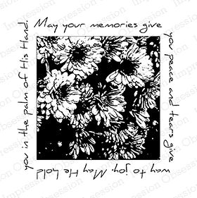 Impression Obsession Cling Stamp MUM SQUARE F7816