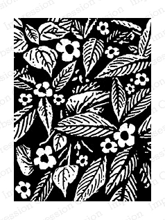 Impression Obsession Cling Stamp FOLIAGE F7811