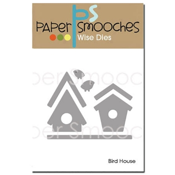 Paper Smooches BIRD HOUSE Wise Dies FBD306