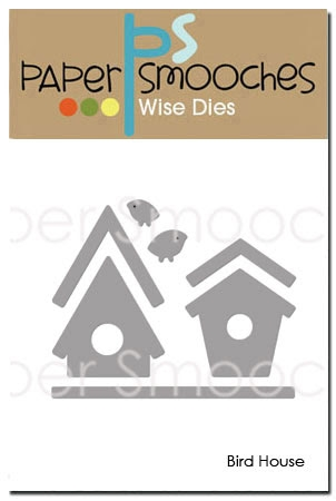 Paper Smooches BIRD HOUSE Wise Dies FBD306 zoom image