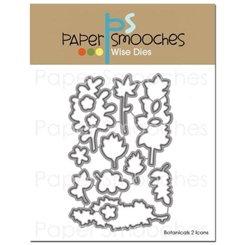 Paper Smooches BOTANICALS 2 ICONS Wise Dies FBD307