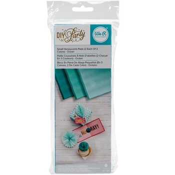 We R Memory Keepers DIY PARTY OCEAN Small Honeycomb Pads 660803