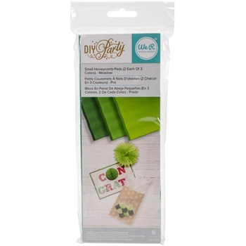 We R Memory Keepers DIY PARTY MEADOW Small Honeycomb Pads 660802