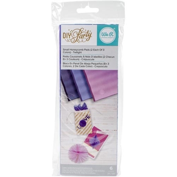 We R Memory Keepers DIY PARTY TWILIGHT Small Honeycomb Pads 660800