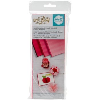 We R Memory Keepers DIY PARTY BLOSSOM Small Honeycomb Pads 660799