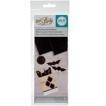 We R Memory Keepers DIY PARTY BLACK Small Honeycomb Pads 660818