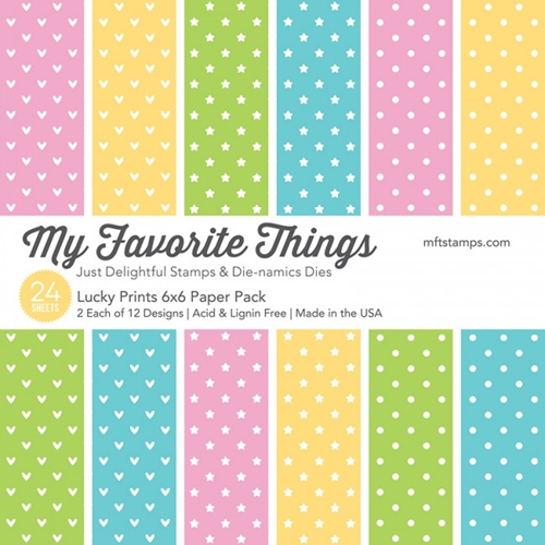 My Favorite Things LUCKY PRINTS 6x6 Paper Pack 01220 Preview Image