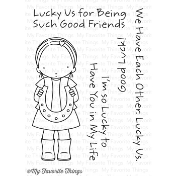 Pure Innocence LUCKY US Clear Stamps PI247 MFT