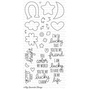 My Favorite Things LUCKY Clear Stamps CS107