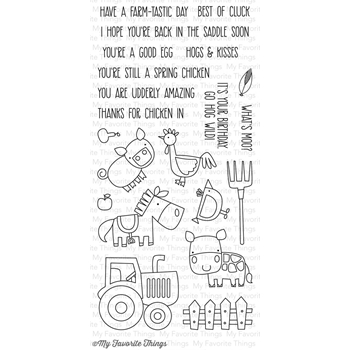 My Favorite Things FARM-TASTIC Clear Stamps CS109