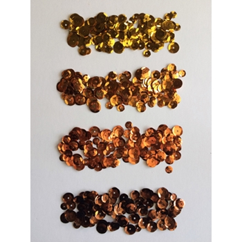 Jillibean Soup ORANGES Sequins JB0820