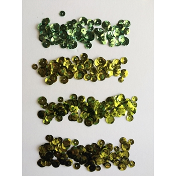 Jillibean Soup GREENS Sequins JB0821