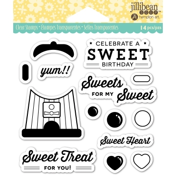 Jillibean Soup SWEET TREAT Clear Stamp Set JB0837 Preview Image