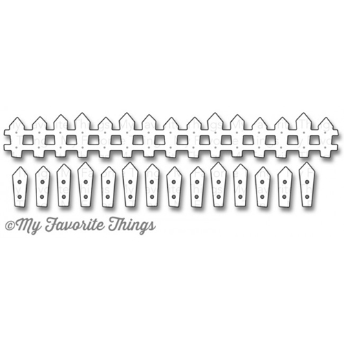 My Favorite Things FARM FENCE Die-Namics MFT852 Preview Image